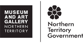 Logo for the Museum and Art Gallery of NT